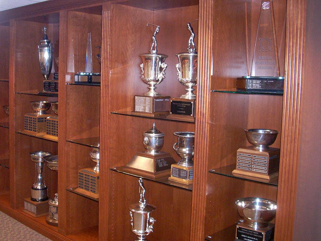 PGA Trophy Showcase