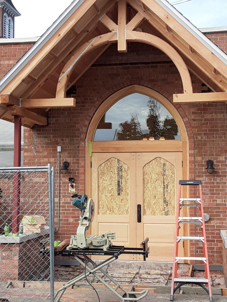 rebuilding-doorway-and-easement