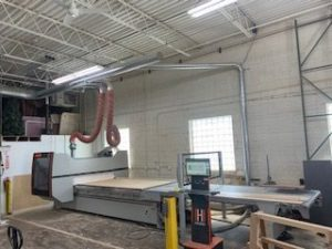 CNC Router at MCS