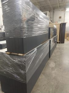 Cabinets ready to ship